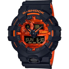 gshock GA700BR-1A metal mens anadigi watch