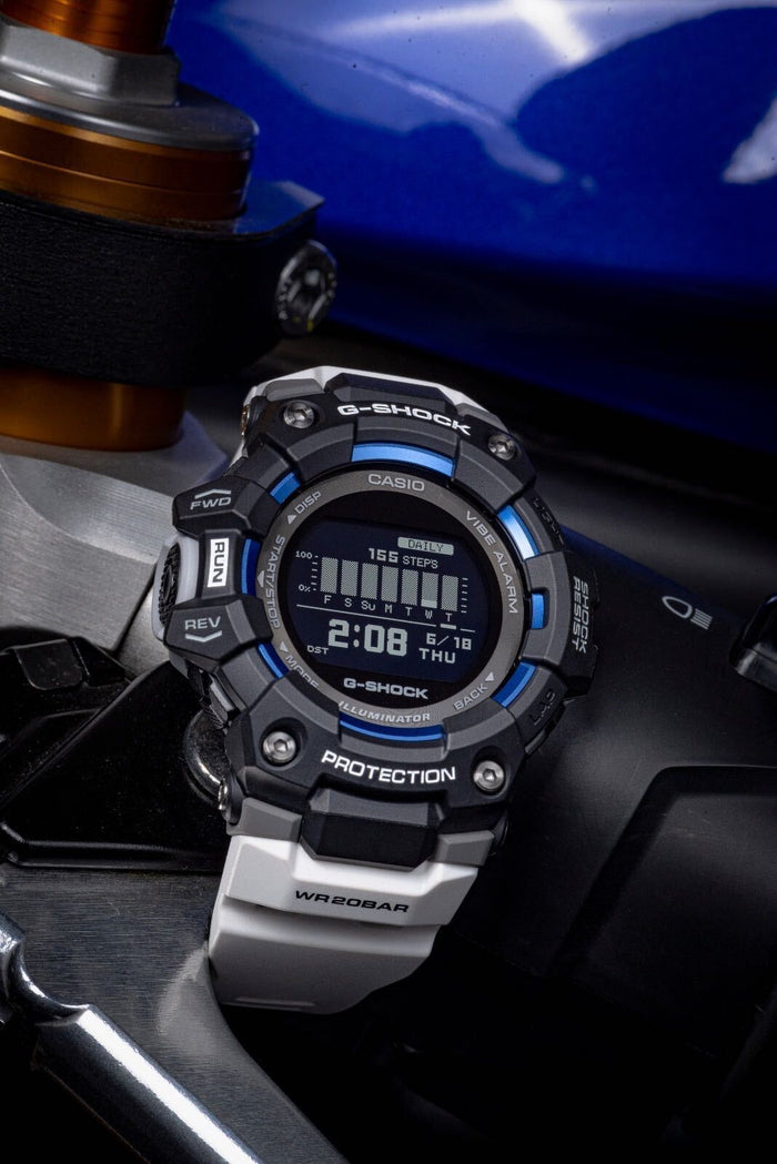gshock GBD100-1A7 move mens smart watch