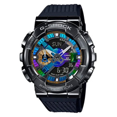 gshock GM110B-1A steel mens anadigi watch