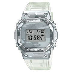 gshock GM5600SCM-1 camo mens transparent watch