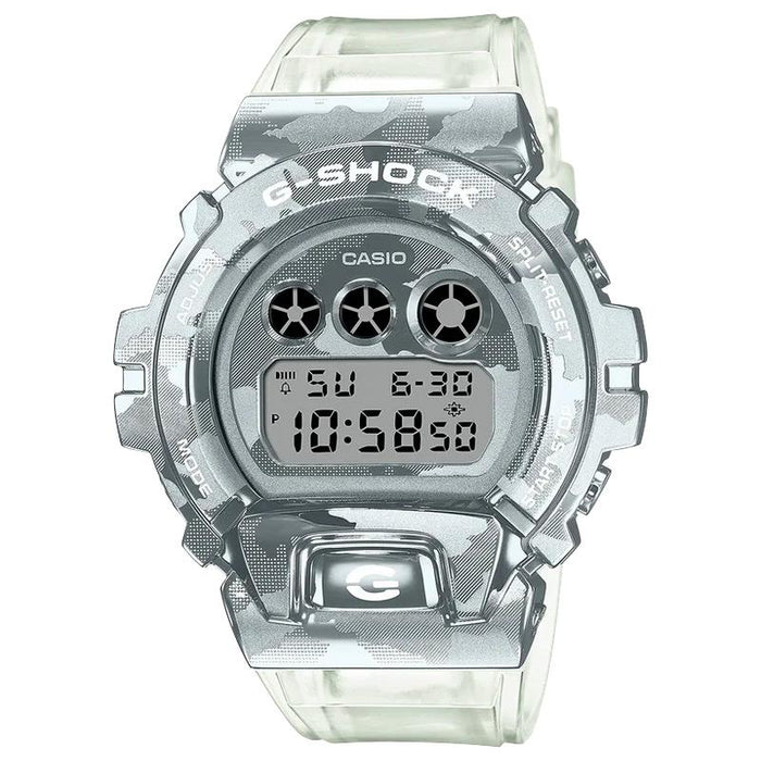 gshock GM6900SCM-1 camo mens transparent watch