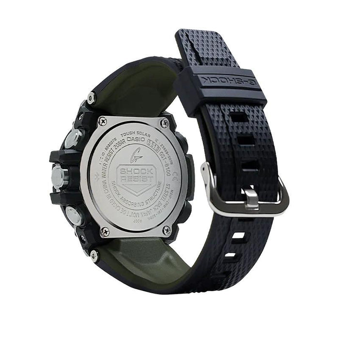 gshock GSTB100GA-1A g steel mens bluetooth watch
