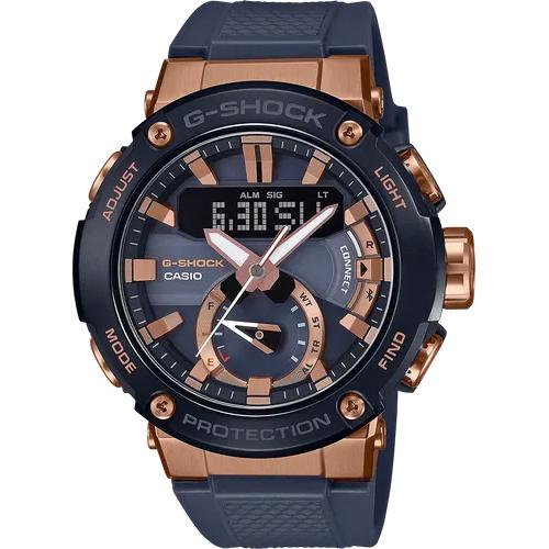 gshock GSTB200G-2A g steel mens carbon core watch