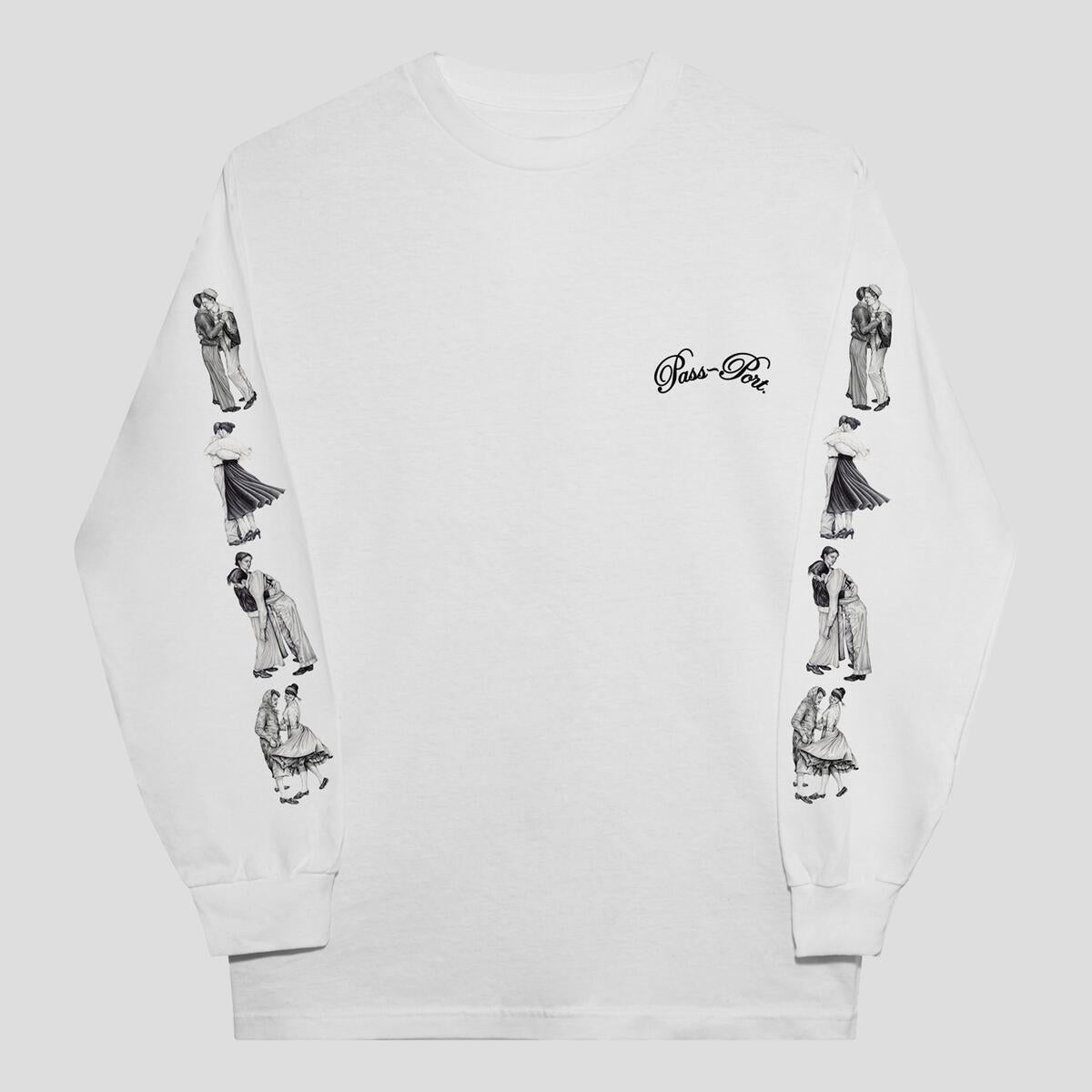 Dancer L/S Tee (White)