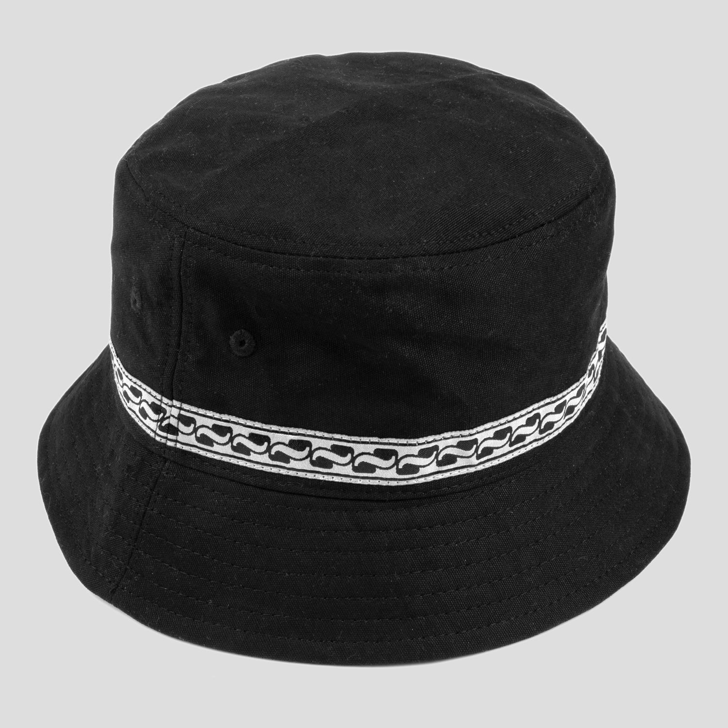 Auto Ribbon Bucket Hat (Black)