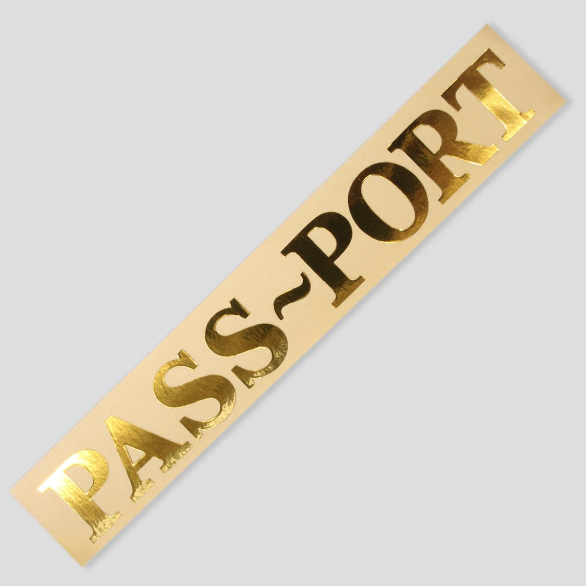 PASS~PORT BUMPER STICKER