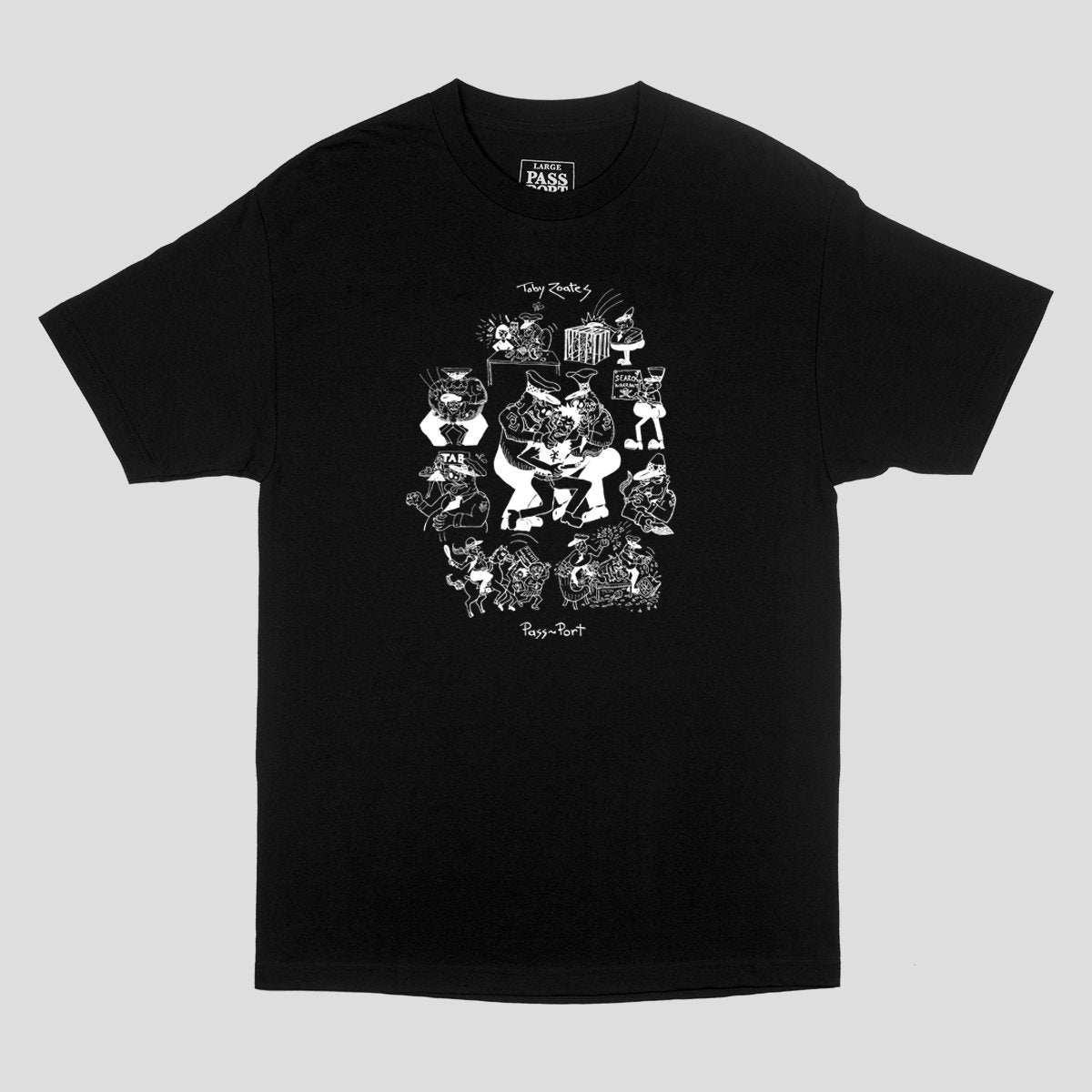 Toby Zoates Coppers Tee (Black)