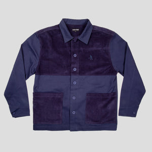 Cord Patch Jacket (Navy)