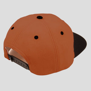 Intersolid Patch 5-Panel Cap (Brown/Black)