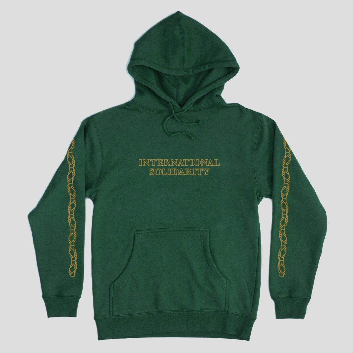 Intersolid Hood (Dark Green)