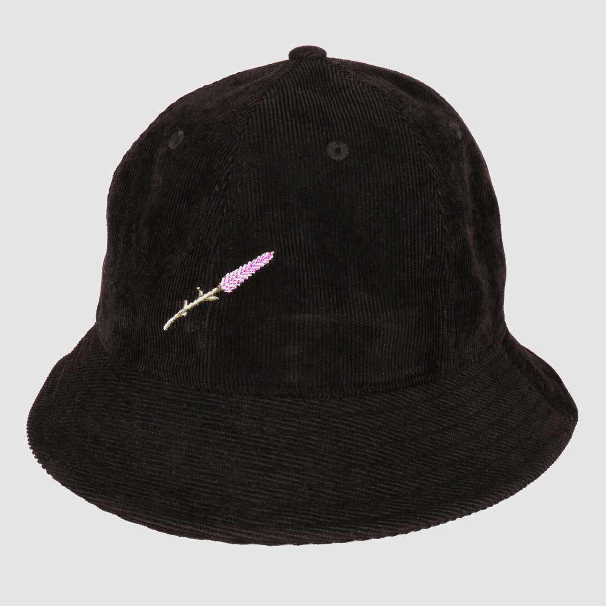 Lavender Bucket Hat (Black)