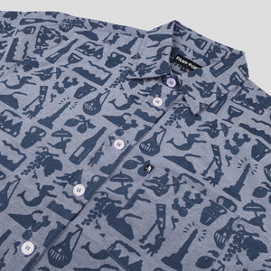 Life of Leisure Shortsleeve Shirt (Blue)