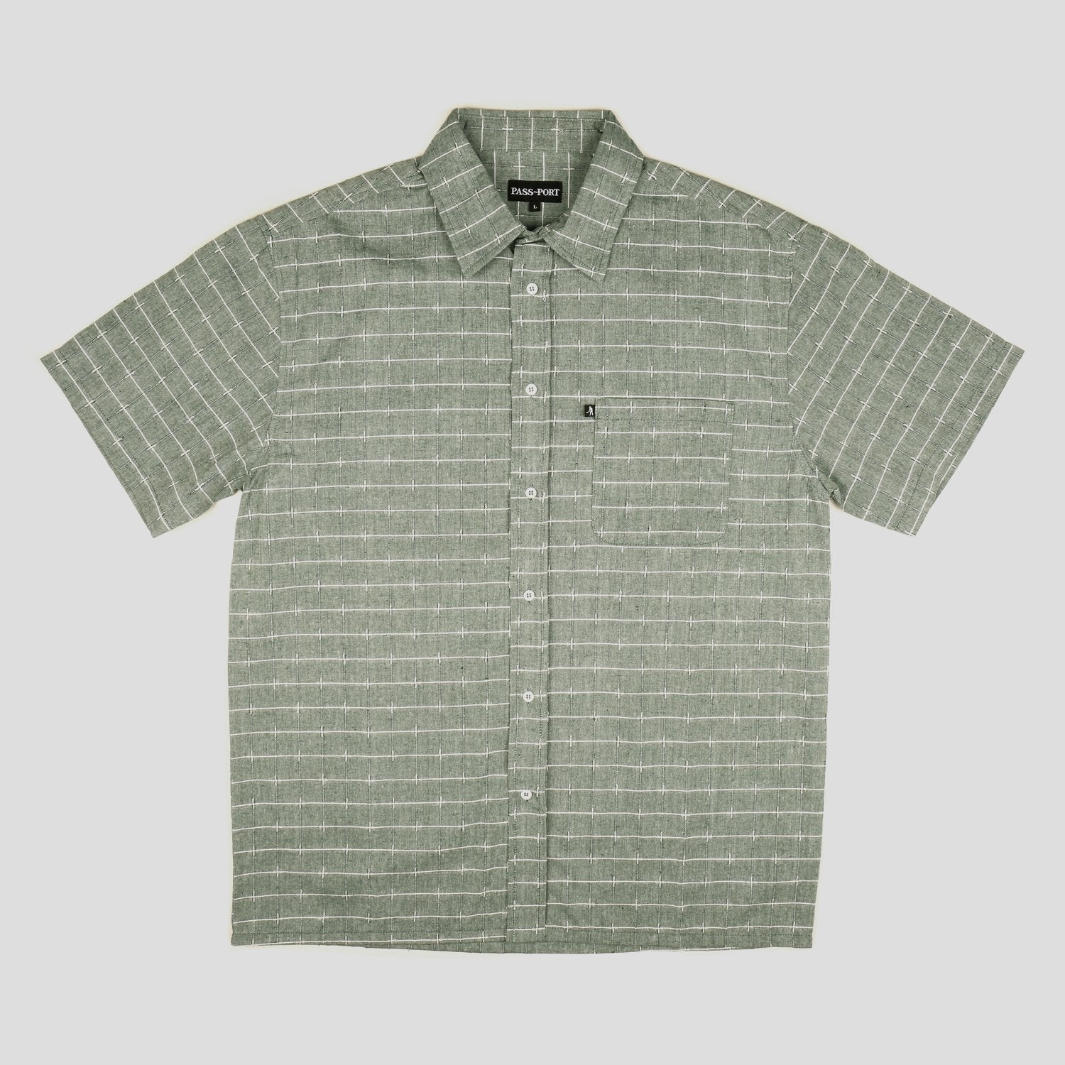 Line Wire Shirt - Shortsleeve (Green)