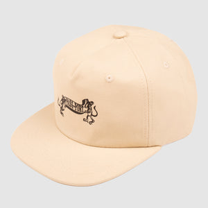 Missing Tilde 5-Panel Cap (Natural)