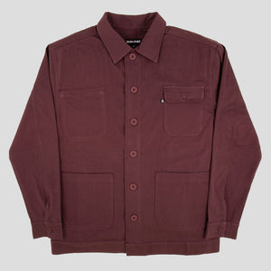 Painter Jacket (Wine)