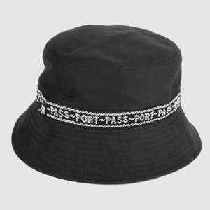 Barbs Ribbon Bucket Hat (Black)