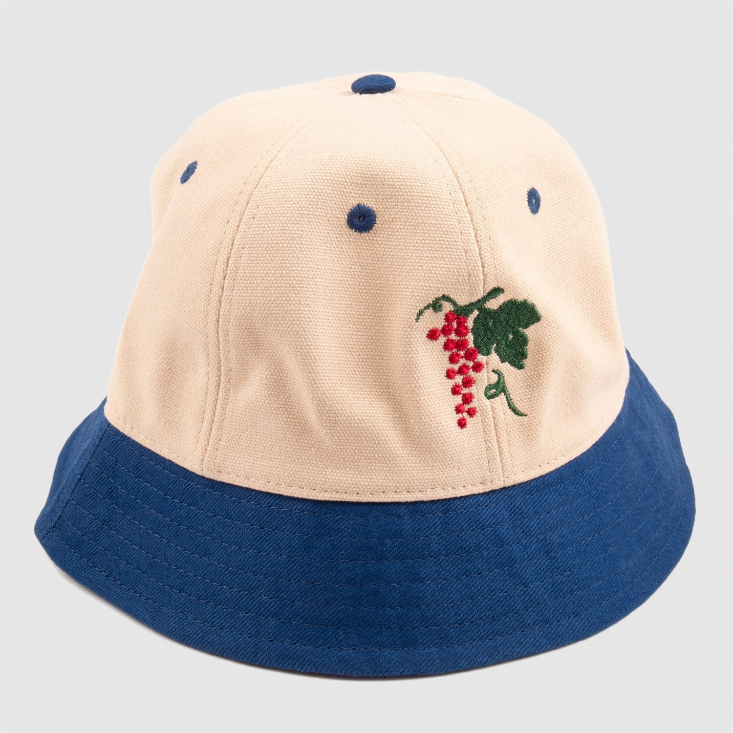 Life of Leisure 6-Panel Bucket Hat (Royal/Natural)