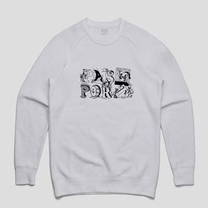 Loot Sweater (White)