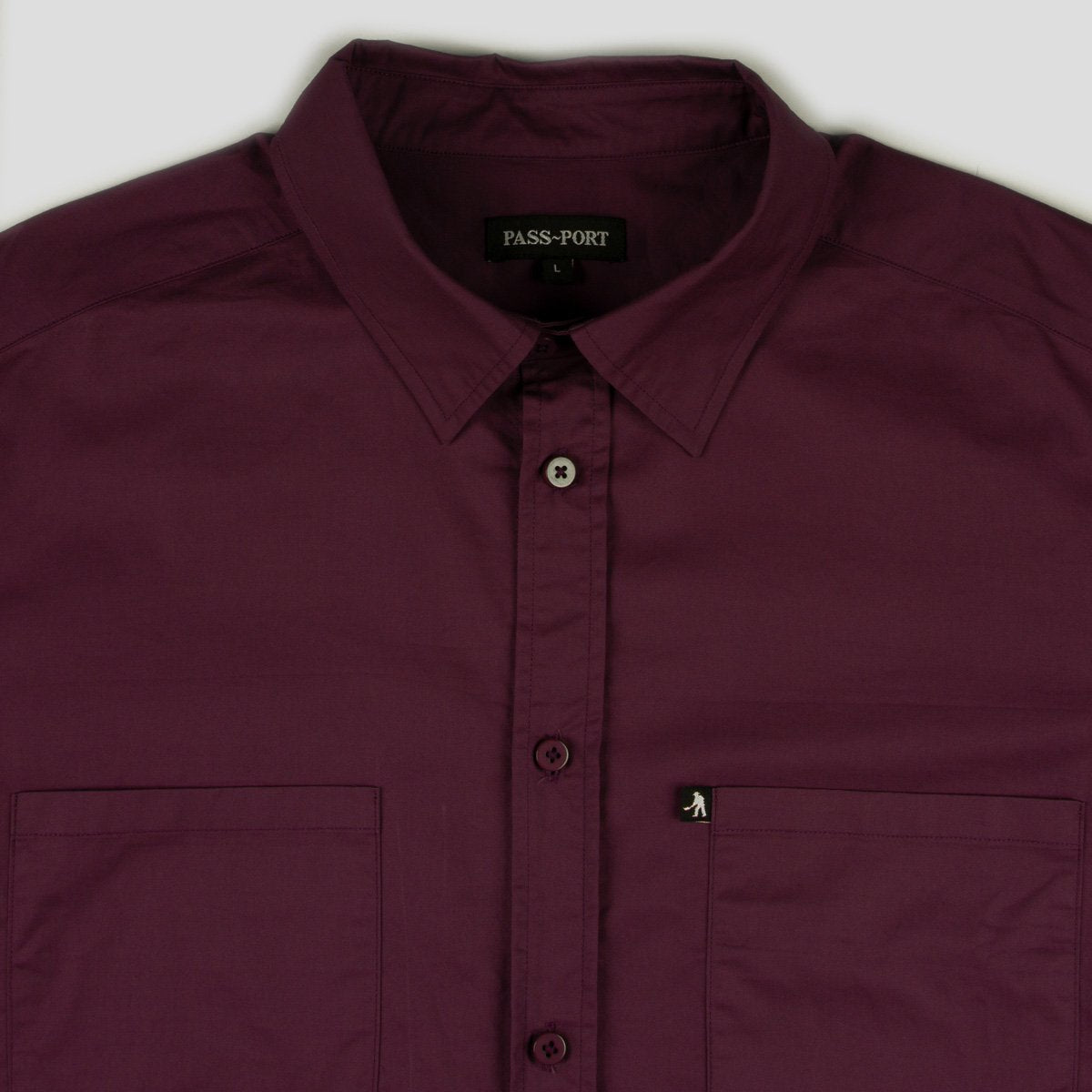 Workers Shortsleeve Shirt (Merlot)