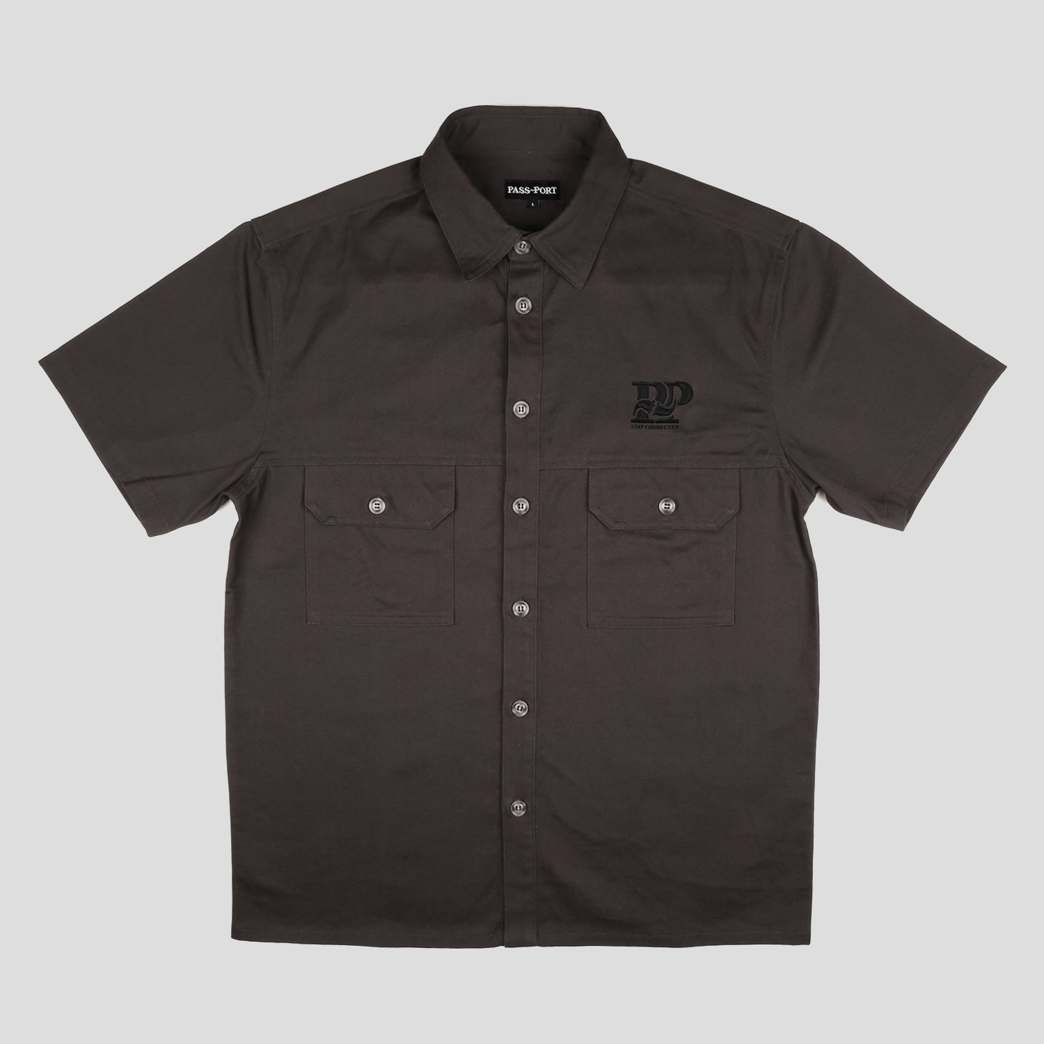 Stay Connected Sparky Shortsleeve Shirt (Tar)