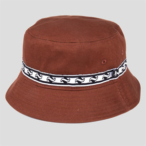 Tilde Band Bucket Hat (Brown)