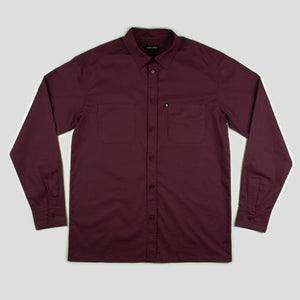 "PASS~PORT ""WORKERS"" SHIRT L/S MERLOT"