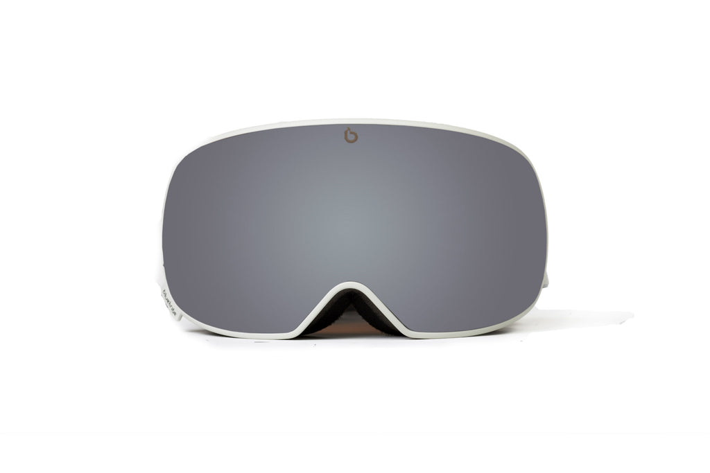 Ultra single lens | Silver Cat. 3 | Skibril - Snowboard bril