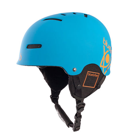 Flex Helmet color blue for ski and snowboarding