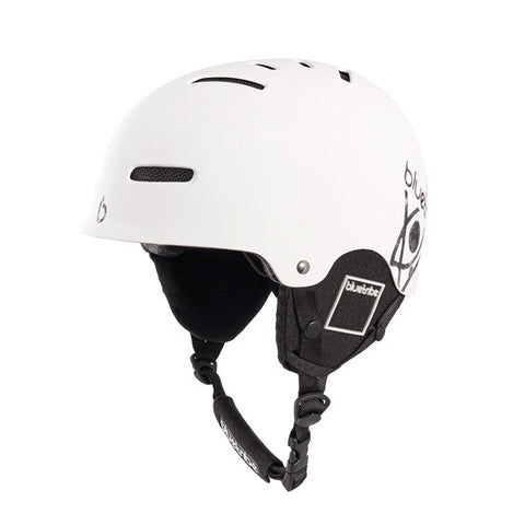 Flex Helmet color white for ski and snowboarding