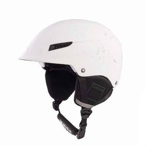 White Ski Helmet - Snowcat by bluetribe