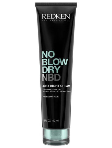 JUST RIGHT CREAM NO BLOW DRY. NDB. 150ML