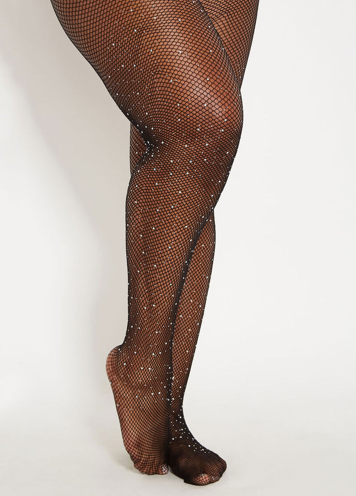 Show Off | Studded Fishnets