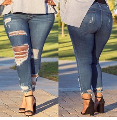 Damsel & Distressed Denim