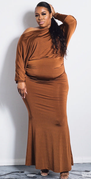 Val | Dolman Maxi Dress