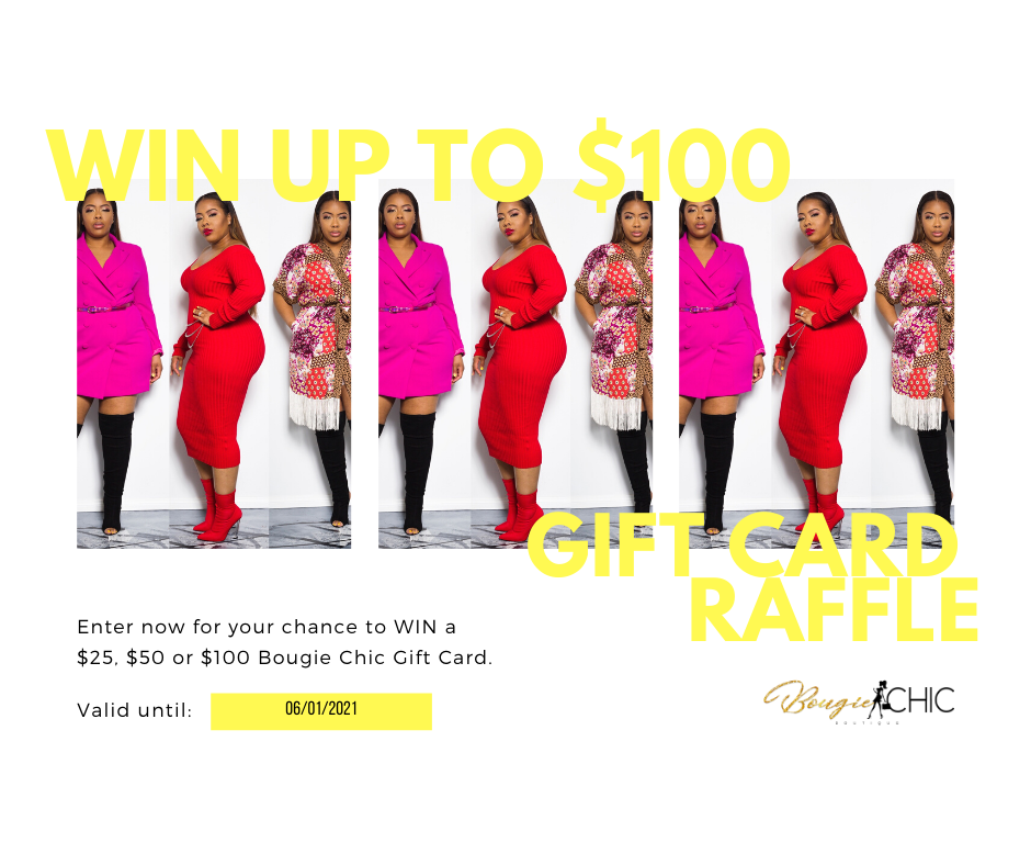 The Bougie Gift Card RAFFLES🎉
