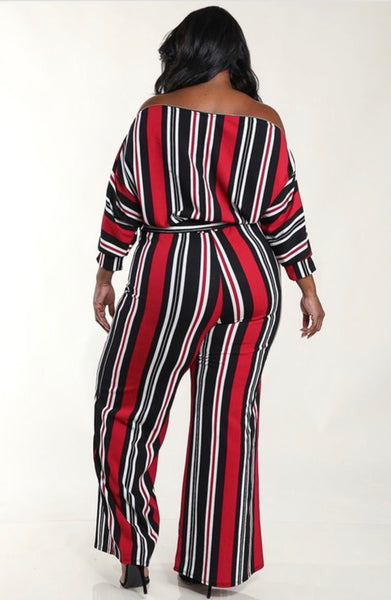Laney | Off the Shoulder Zipper Jumpsuit