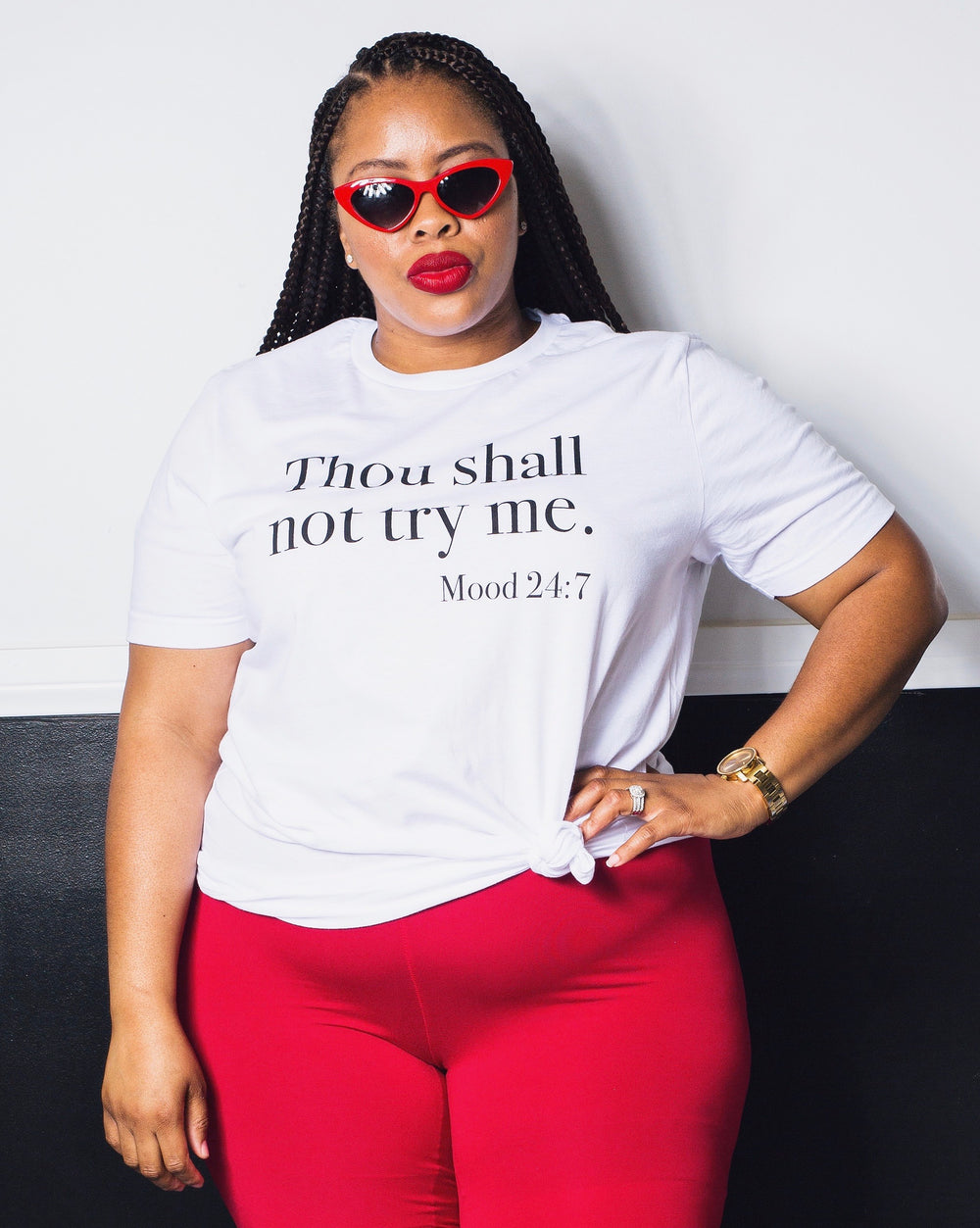 Thou Shall Not Try Me | Unisex Tee