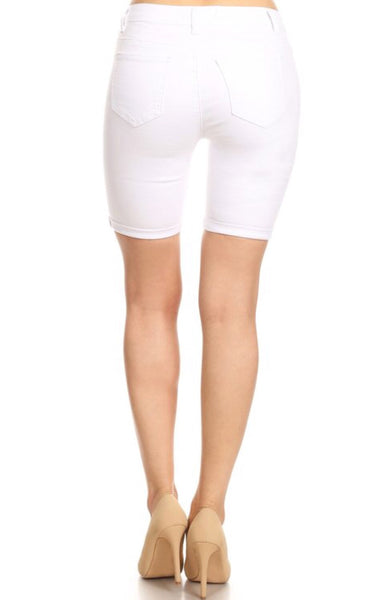 Whiteout | Bermuda Shorts