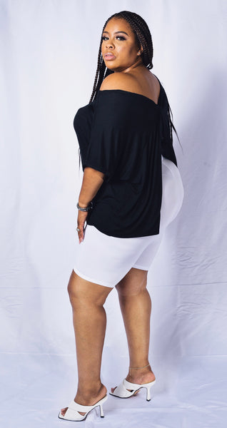 Views | Drape Back Top (S-3XL)