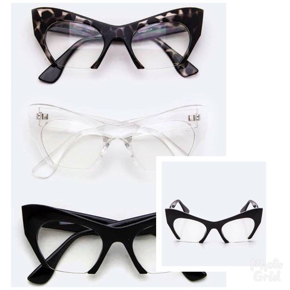 Fierce Cat Eye | Glasses