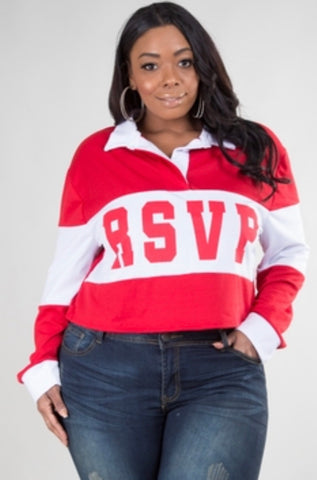 R.S.V.P. | Long Sleeve Crop