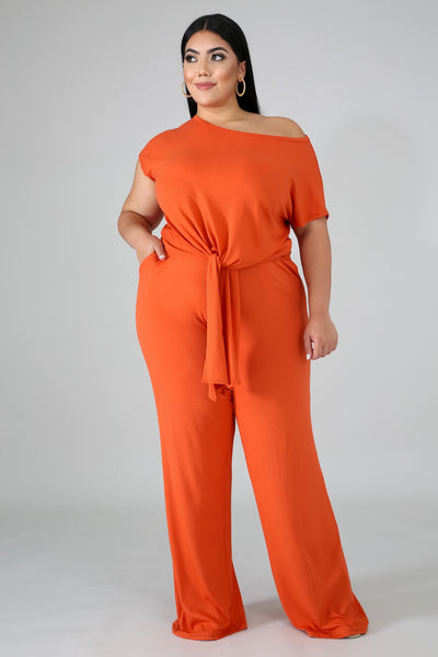 Orange Crushin' | Pant Set