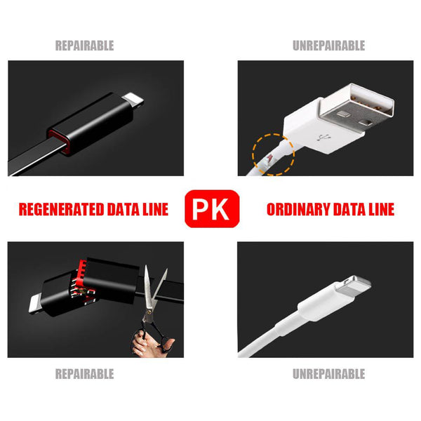 Regenerative Charging Cable iOS\Android