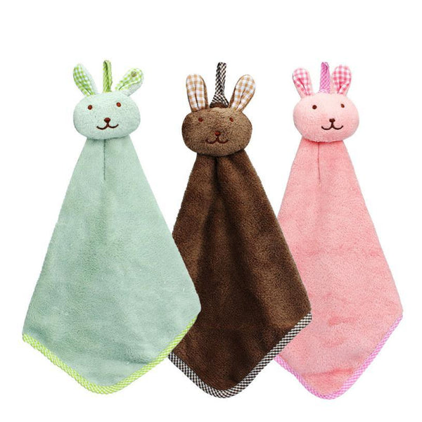 Cartoon Animal Hand Towel