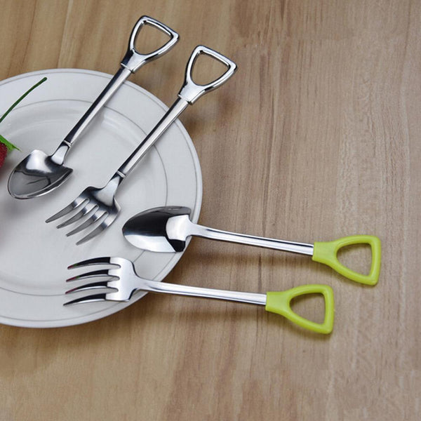 The Country Story Shovel Spoon And Fork