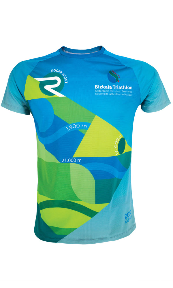 Camiseta Running oficial BIZKAIA TRIATHLON — 2020 Edition
