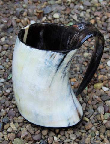 Large Viking Horn Tankard