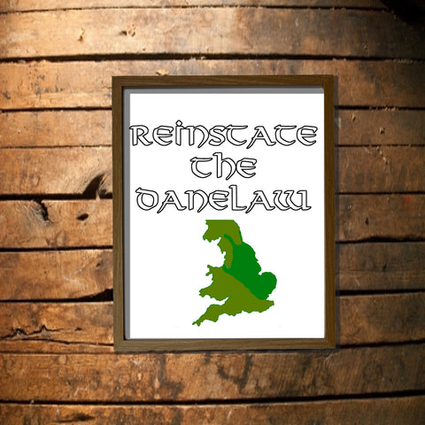 Reinstate the Danelaw Digital Download Poster