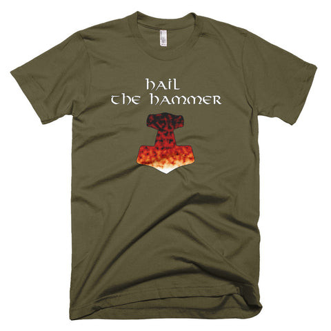 Hail the Hammer (Short sleeve men's t-shirt)
