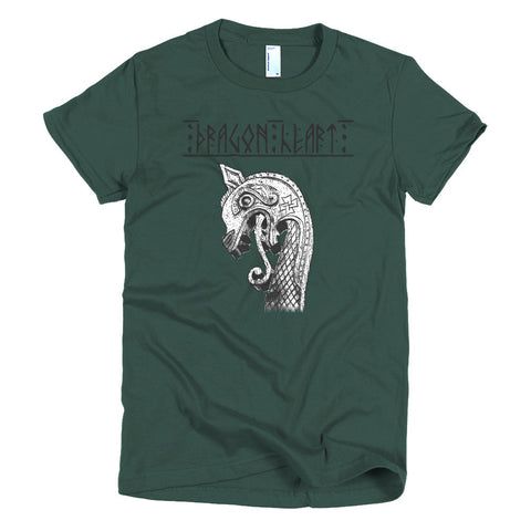 Dragonheart (Short sleeve women's t-shirt)